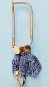 Anthropologie Storage & Organization - monogrammed hook